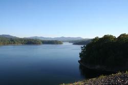 Summersville Lake Wide Open