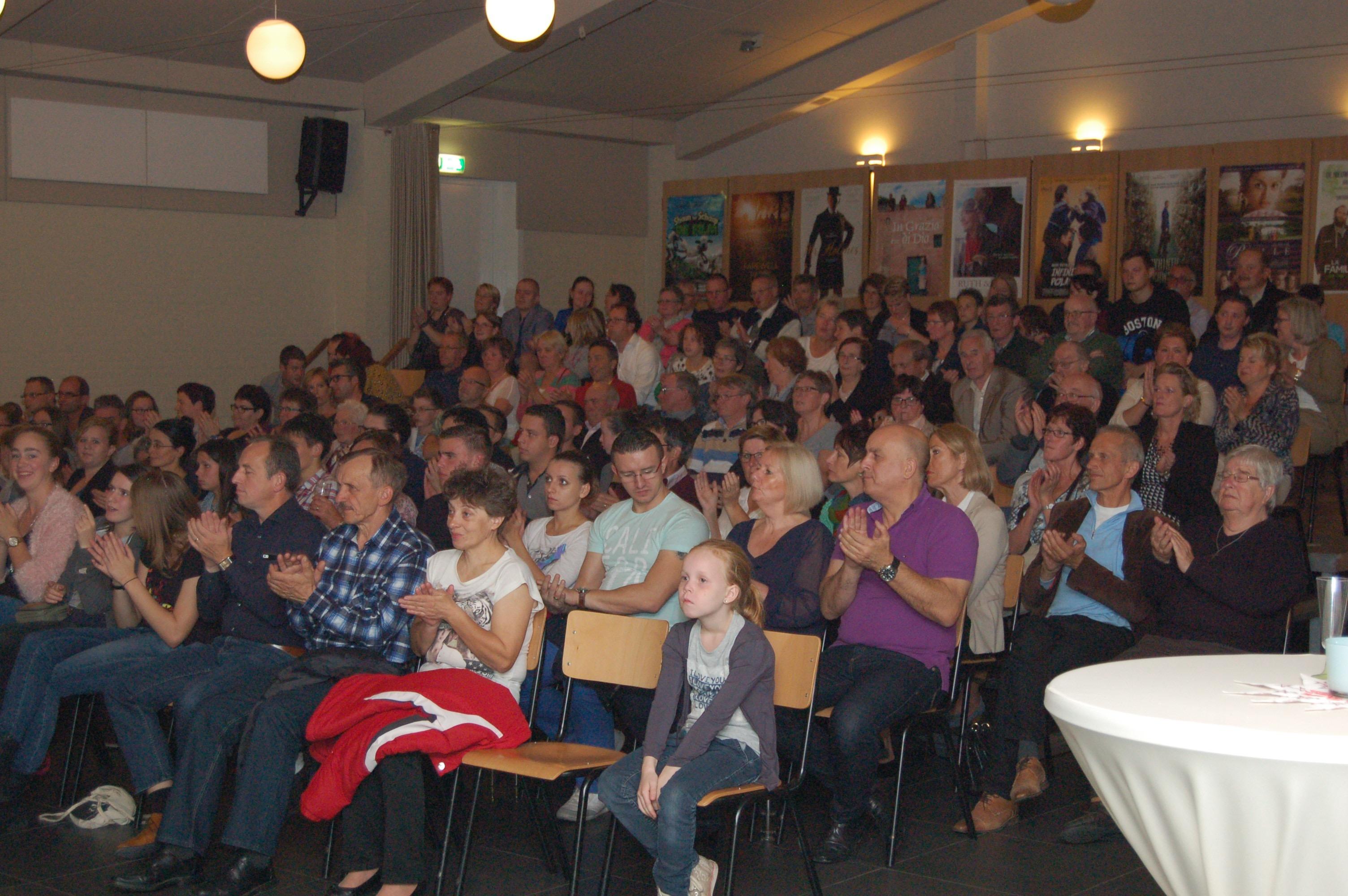 Publiek is enthousiast