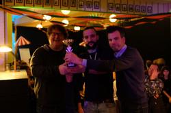 De winnaars team Jokers