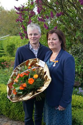 Onze Anita Hamers krijgt welverdiende koninklijke onderscheiding
