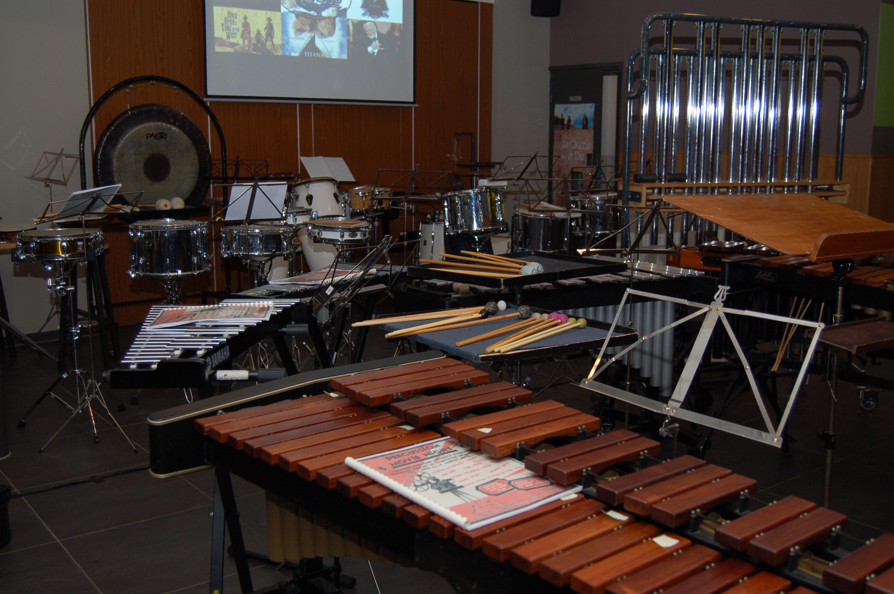instrumenten staan klaar