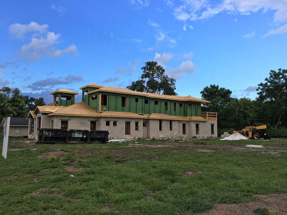 new home construction Winter Park Florida