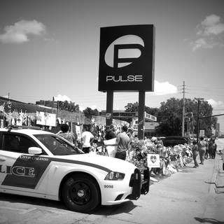 Security at the Pulse Memorial