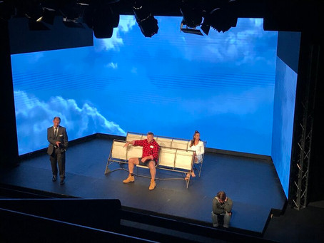 Marooned (Wolves Theatre Company) at Alex Theatre - 105 minutes (including a 15 minute interval)