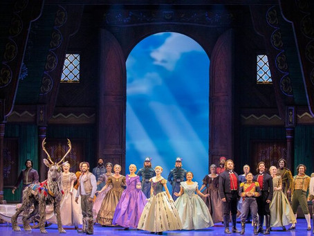 Frozen, The Musical (Capitol Theatre) - 2 hours 20 minutes (including a 20 minute interval)