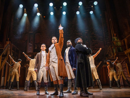 Hamilton (Lyric Theatre) - 2 hours 50 minutes (including a 20 minute interval)