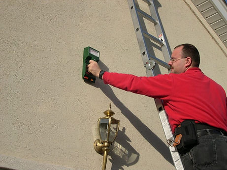 stucco inspection & testing