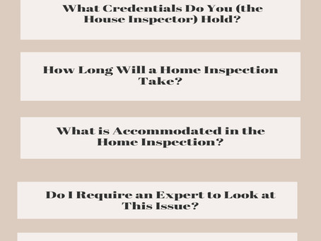Questions To Ask a Home Inspector Before, During, and After a Home Inspection