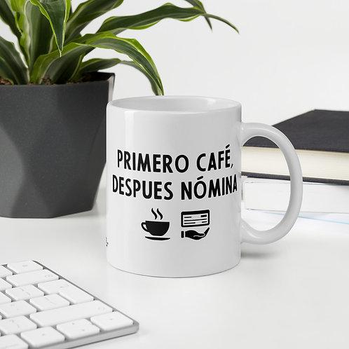 Payroll Mug in Spanish