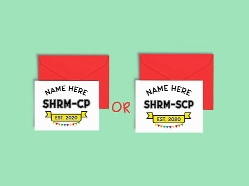 Human Resources SHRM Greeting Cards
