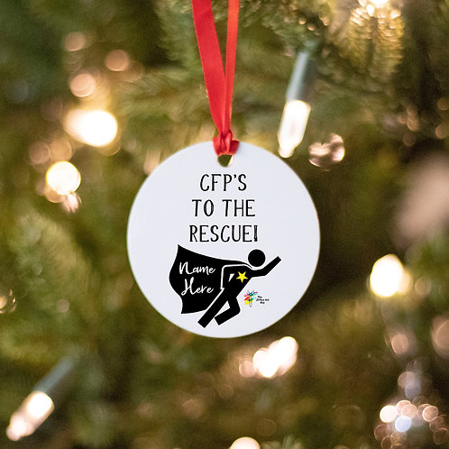 CFP Christmas Gift Personalized Ornament