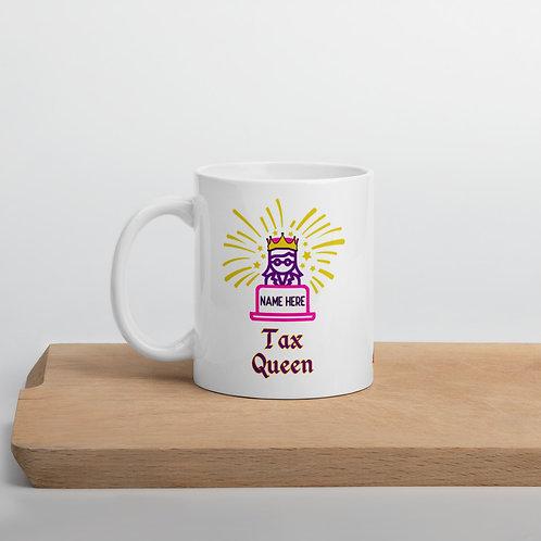 Tax Mug Tax Queen Personalized