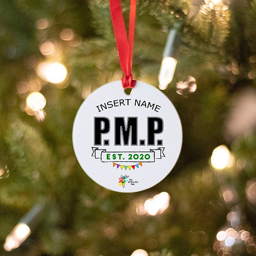 Project Management Professional Ornament PMP