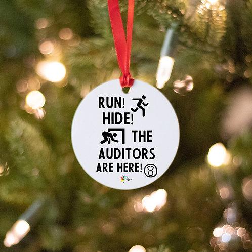Auditor Ornament