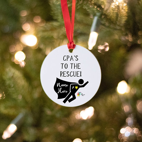 CPA Ornament Superhero