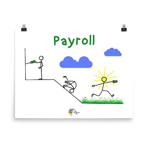 Payroll Art Print