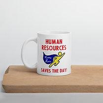 Human Resources Superhero Mug Custom Gift