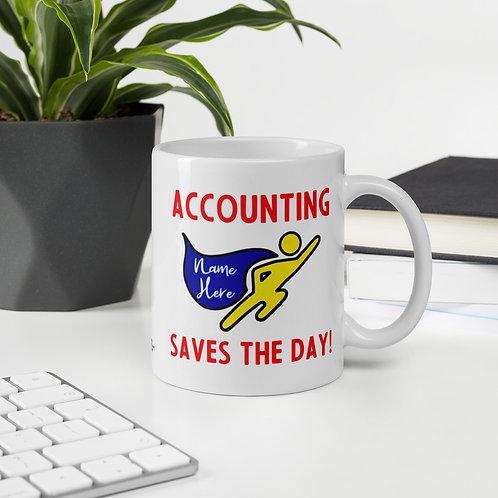 Accounting Superhero Mug