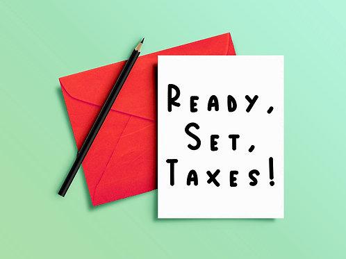 Tax Season Card for CPA