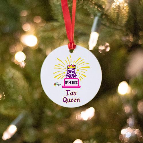 Tax Queen Ornament