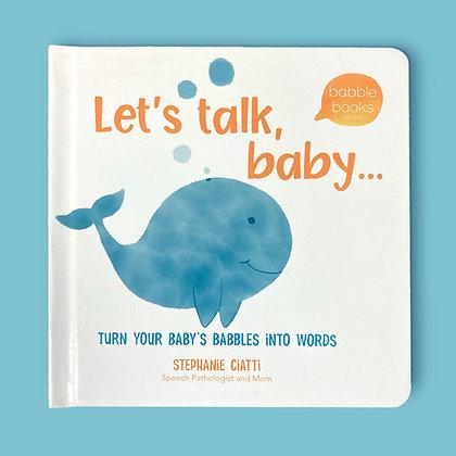 Let's Talk, Baby Boardbook