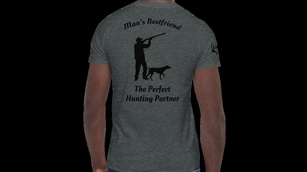 "AFG Short-Sleeve Unisex T-Shirt ""MAN'S BESTFRIEND"""