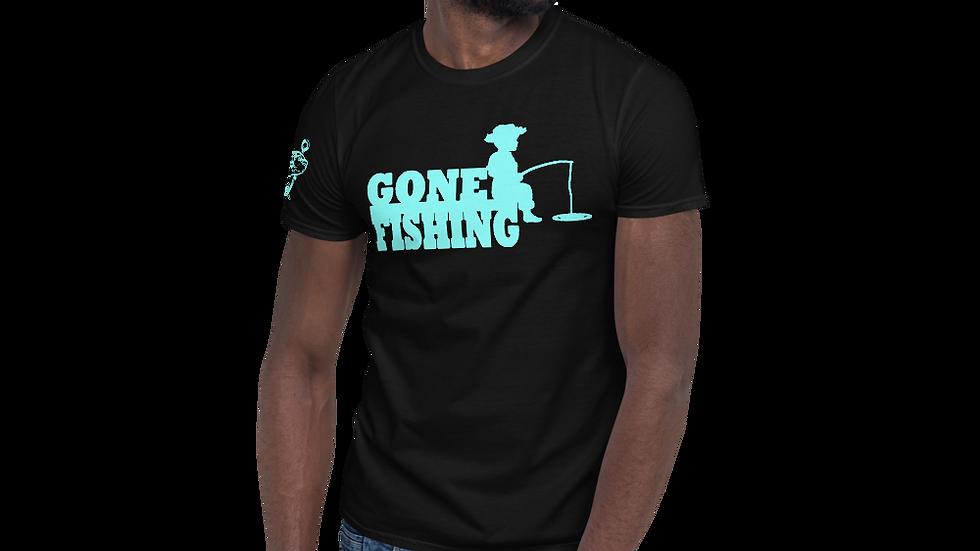 """AFG Short-Sleeve Unisex T-Shirt """"GONE FISHING"""""""