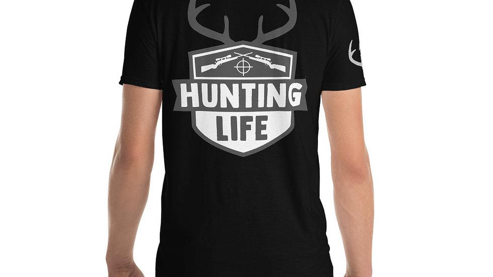"""AFG Short-Sleeve Unisex T-Shirt """"HUNTING LIFE"""""""