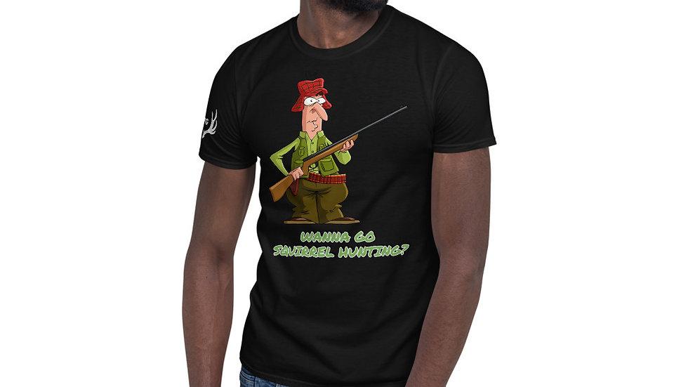 "AFG Short-Sleeve Unisex T-Shirt ""SQUIRREL HUNTING"""