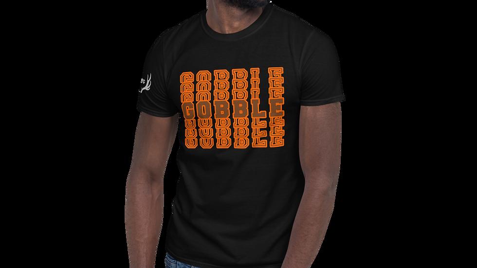 """AFG Short-Sleeve Unisex T-Shirt """"GOBBLE"""""""