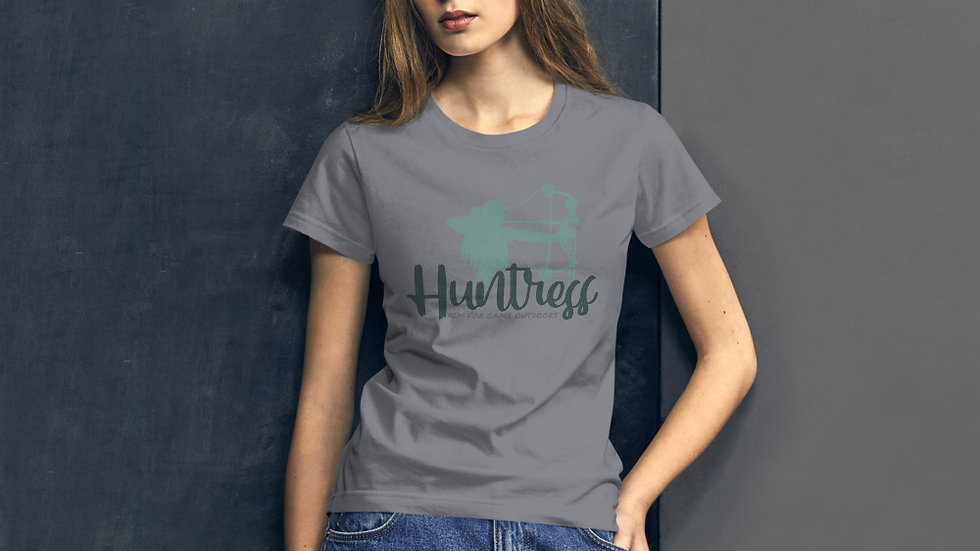 "AFG Women's ""HUNTRESS"" t-shirt"