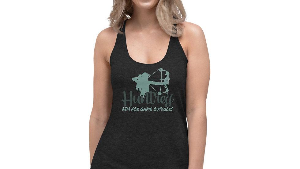 "AFG Women's Racerback Tank ""HUNTRESS"""