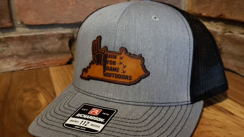 AFG Outdoors Custom Leather Patch Hat