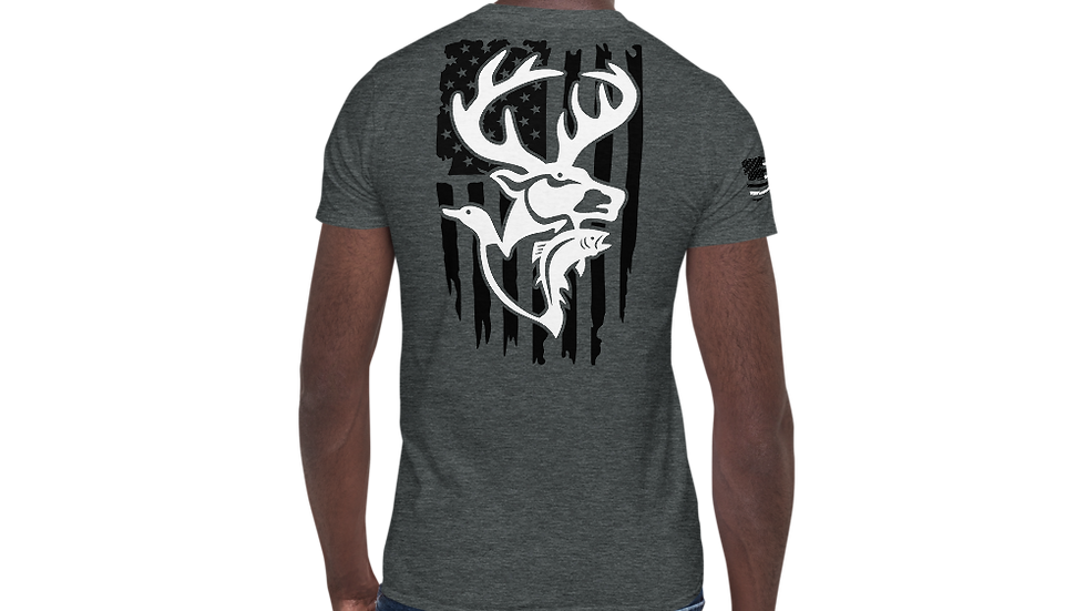"AFG Short-Sleeve Unisex T-Shirt ""SPORTSMAN"""