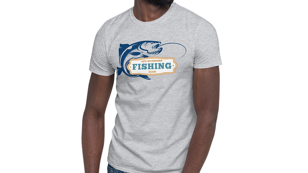 "AFG Short-Sleeve Unisex T-Shirt ""FISHING CLUB"""