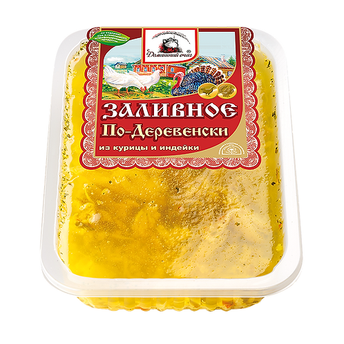 Заливное По-деревенски. Домашний очаг. Великоросс.