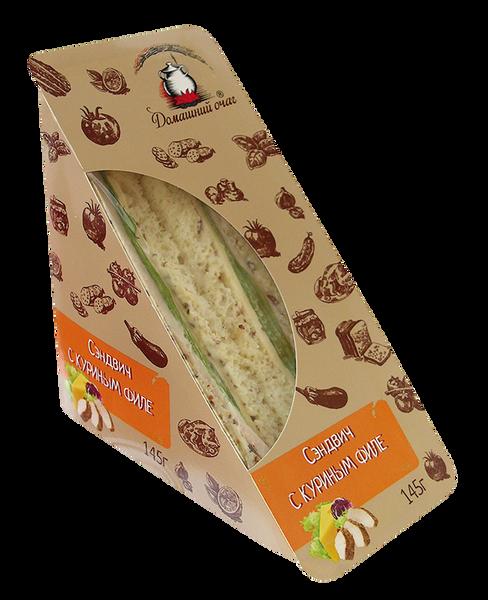Сэндвич с куриным филе. Домашний очаг.