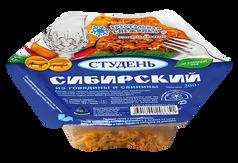 """Студень """"Сибирский"""" из говядины и свинины. Хрустальная снежинка."""