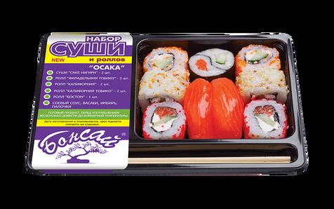 """Набор суши и роллов """"Осака"""". Бонсай."""