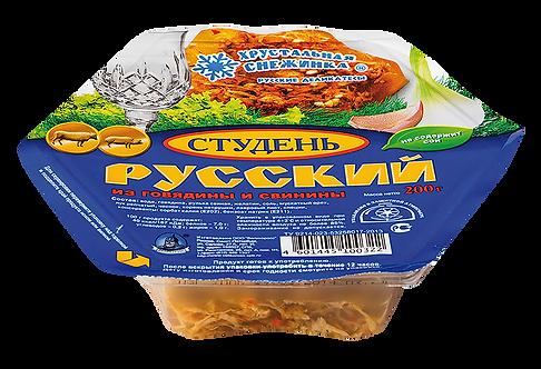 """Студень """"Русский"""". Хрустальная снежинка. Великоросс."""