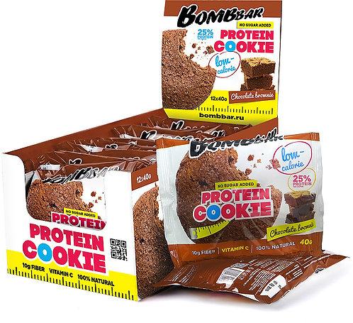 Печенье Bombbar Шоколадный Брауни