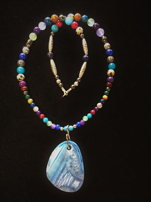 Blue Agate (Heaven & Courage)
