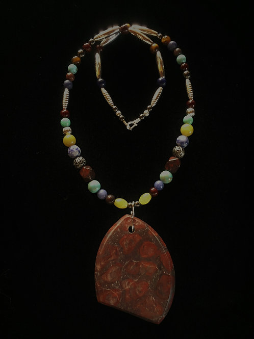 Red Jasper (Healing by the Blood of Christ)