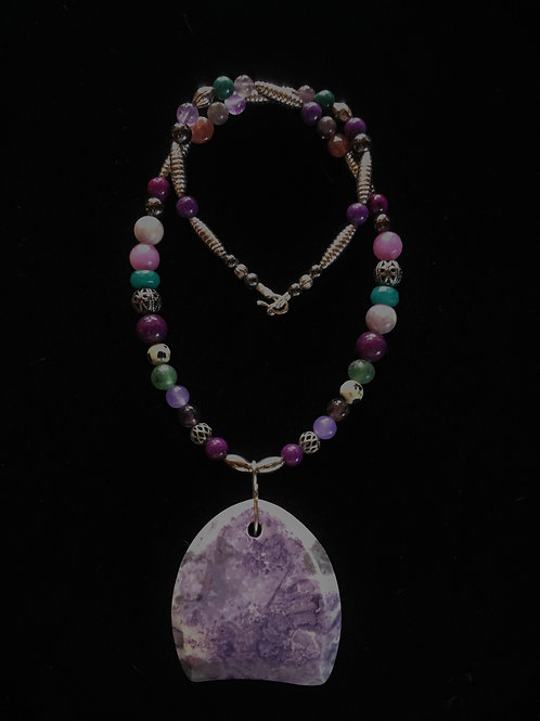 Purple Agate (Kingship & Courage)