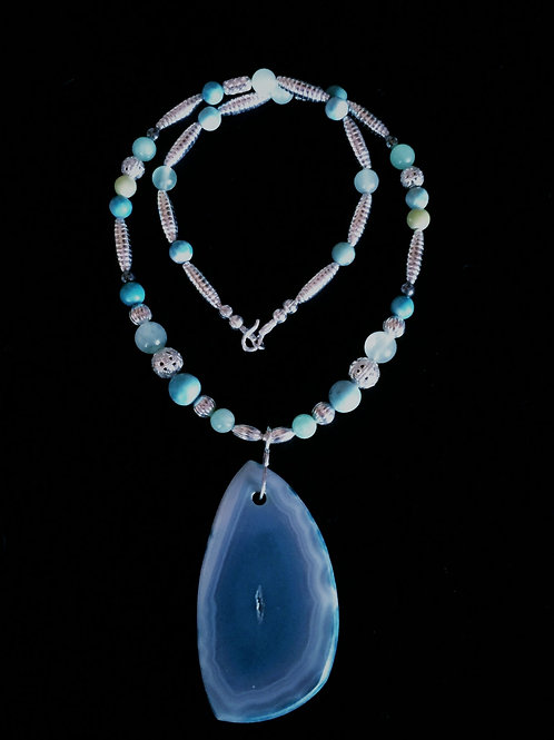 Blue Agate (Spiritual Strength from Heaven)