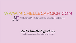 Michelle Carcich Business Card for Graph