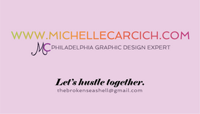 Michelle Carcich Business Card