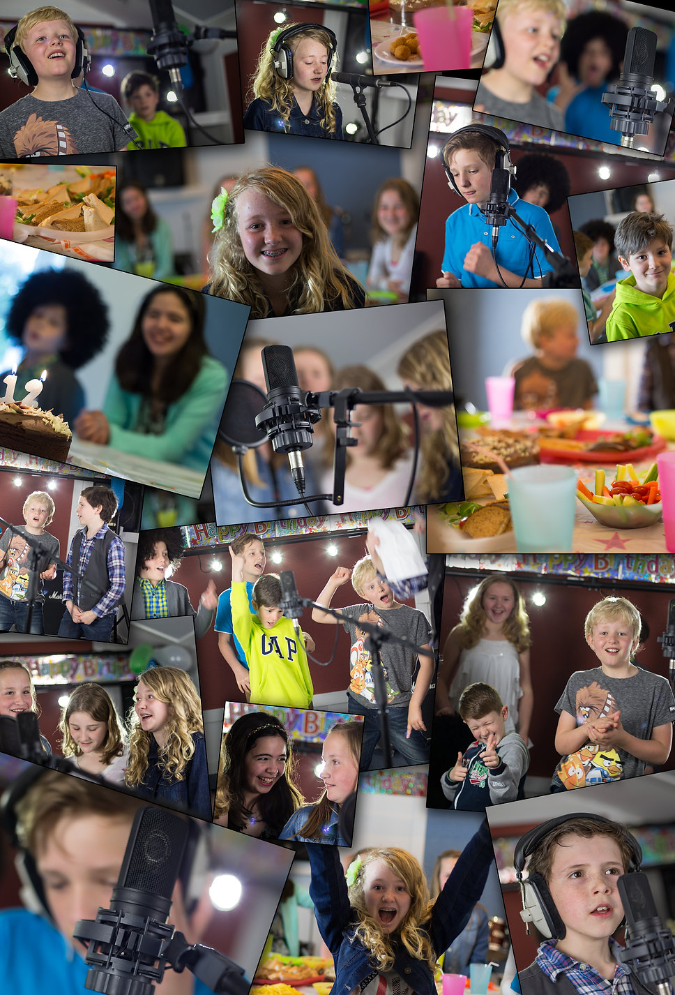 Recording parties at Langlei Studios, party venues in Kent, Kids party venues in Kent