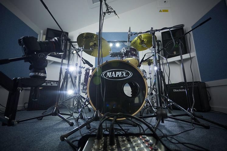 videography studio, recording studio, rehearsal studio in Kent