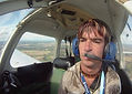 Nathan Doidge, most disabled pilot, first solo navigation excercise